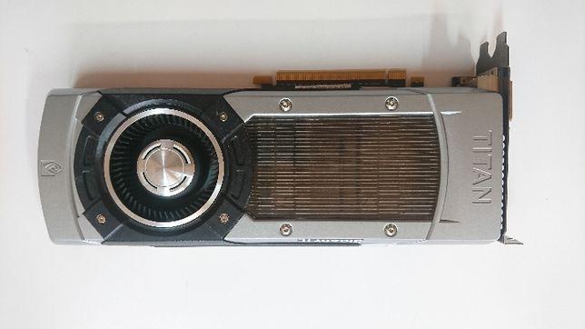 GeForce GTX TITAN 6GB Uszkodzona