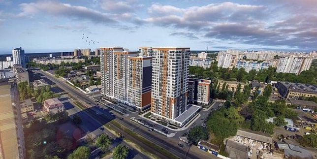 2-ком квартира в ЖК Бережанский! 17 этаж, 8 секция, 820у.е/m2, ВИДОВАЯ