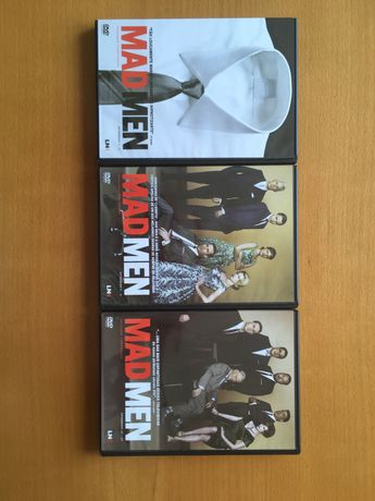Mad Men primeira e segunda temporada completa DVD