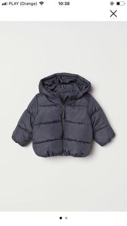 Nowa watowana ciepła kurtka H&M rozm. 104