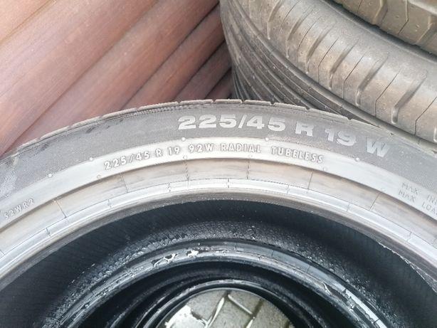 Opony letnie Continental 225/45 R19 92W