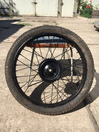 Продам ретро колесо мотоцикла Минск К125 Ковровец К55 идеал оригинал