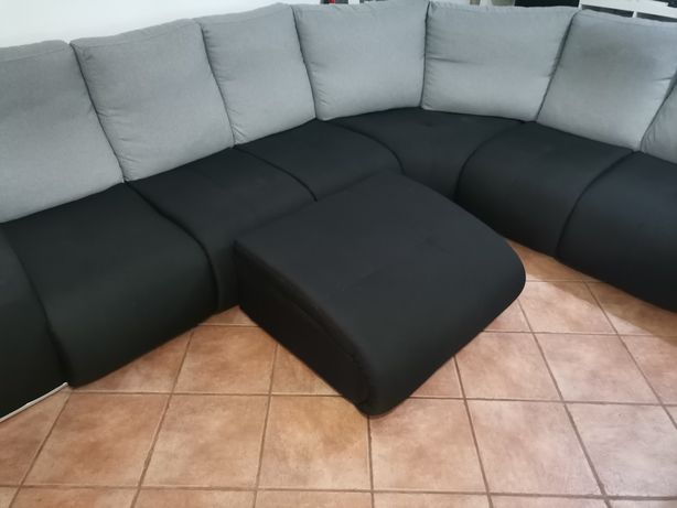 Sofá 7 lugares + chaise long (Como Novo)