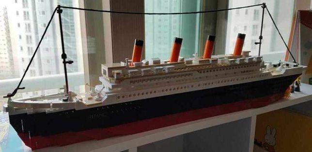 """КРАСИВЕЙШИЙ корабль """"Титаник"""" конструктор тип лего более 1000 деталей"""