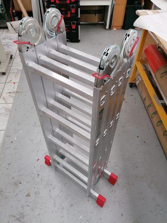 Escada de aluminio