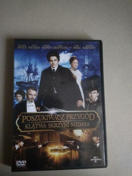 Film dvd Poszukiwacz przygód:Klątwa skrzyni Midasa
