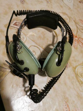 Słuchawki lotnicze z mikrofonem