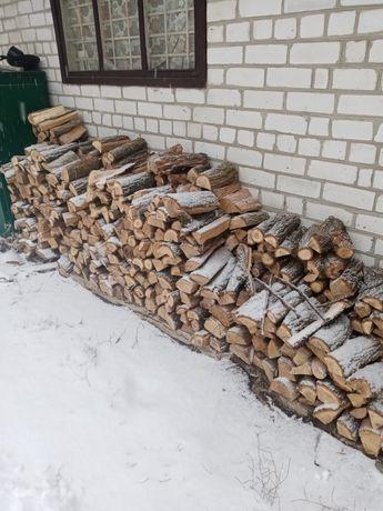 Продам дрова рубаные дуб