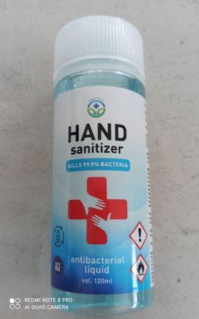 Płyn antybakteryjny HAND SANITIZER 120 ml.