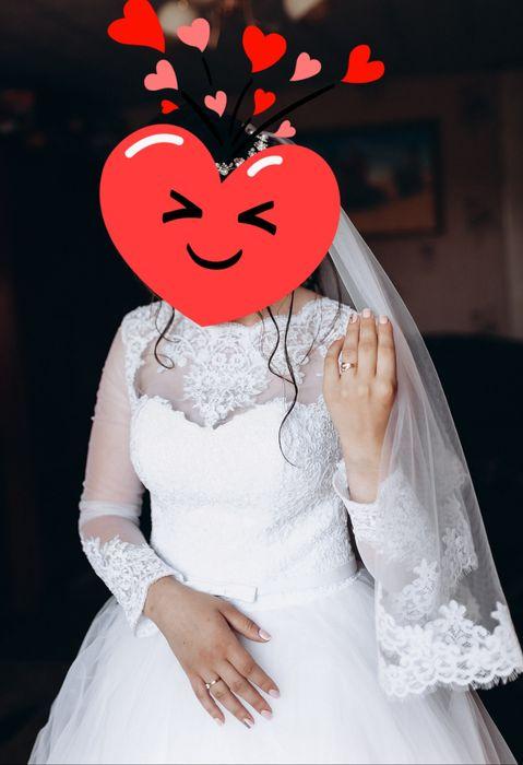 Продам весільну сукню Радомышль - изображение 1