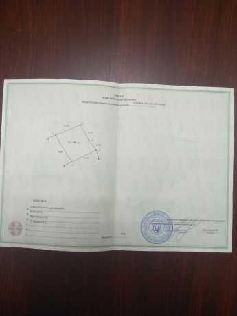 Продам приватизированный земельный участок 12 сот. под застройку