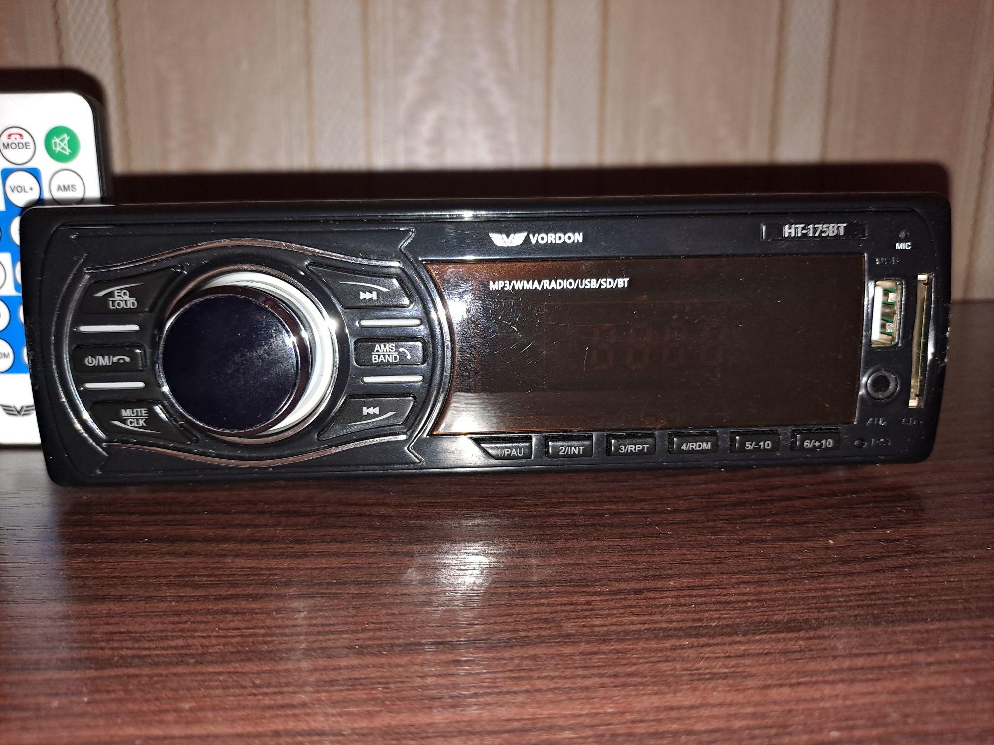 Radio samochodowe Vordon HT-175BT !