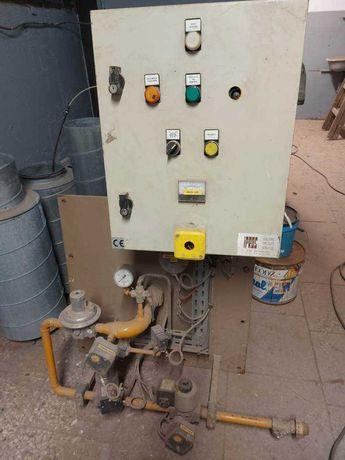 Palnik gazowy bezpośredniego spalania używany do kabiny lakierniczej