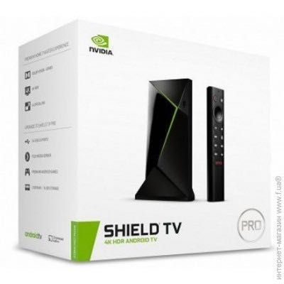 SHIELD Android TV Pro HDR 4K UHD 2019 года