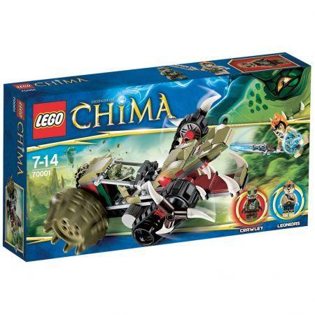LEGO Chima Rozpruwacz Crawleya 70001