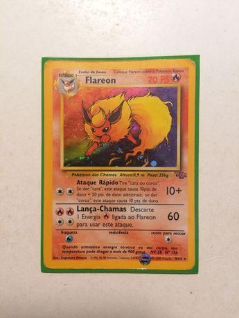 Carta Pokémon Flareon RARE HOLO 1999