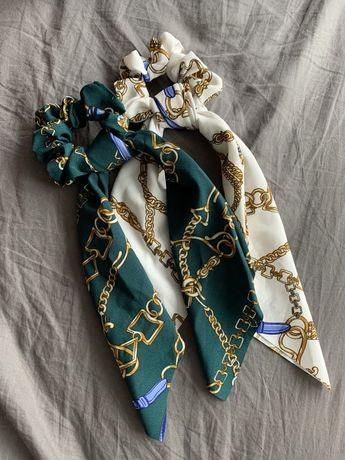Резинка для волос с шарфиком, 2 шт.