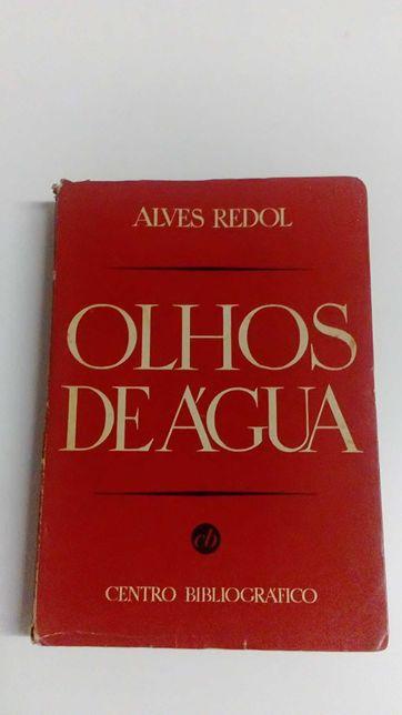 Livro Alves Redol Olhos de Agua