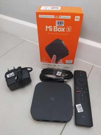 Xiaomi mi box S 4k przystawka android tv Gwarancja :)