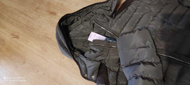 Nowa, dłuższa kurtka damska , rozmiar 44