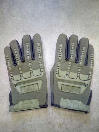 Перчатки новые на застёжках размер L 25 см