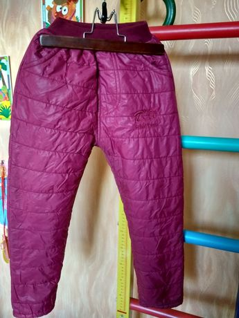 Демисезонные и зимние штаны 6-7 лет