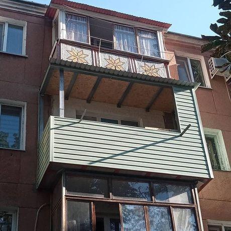Ремонт и расширение балконов,лоджий под ключ скидка 20%!