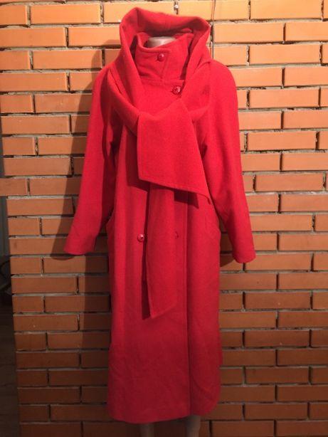 Шерстяное пальто St Michael 48 р.