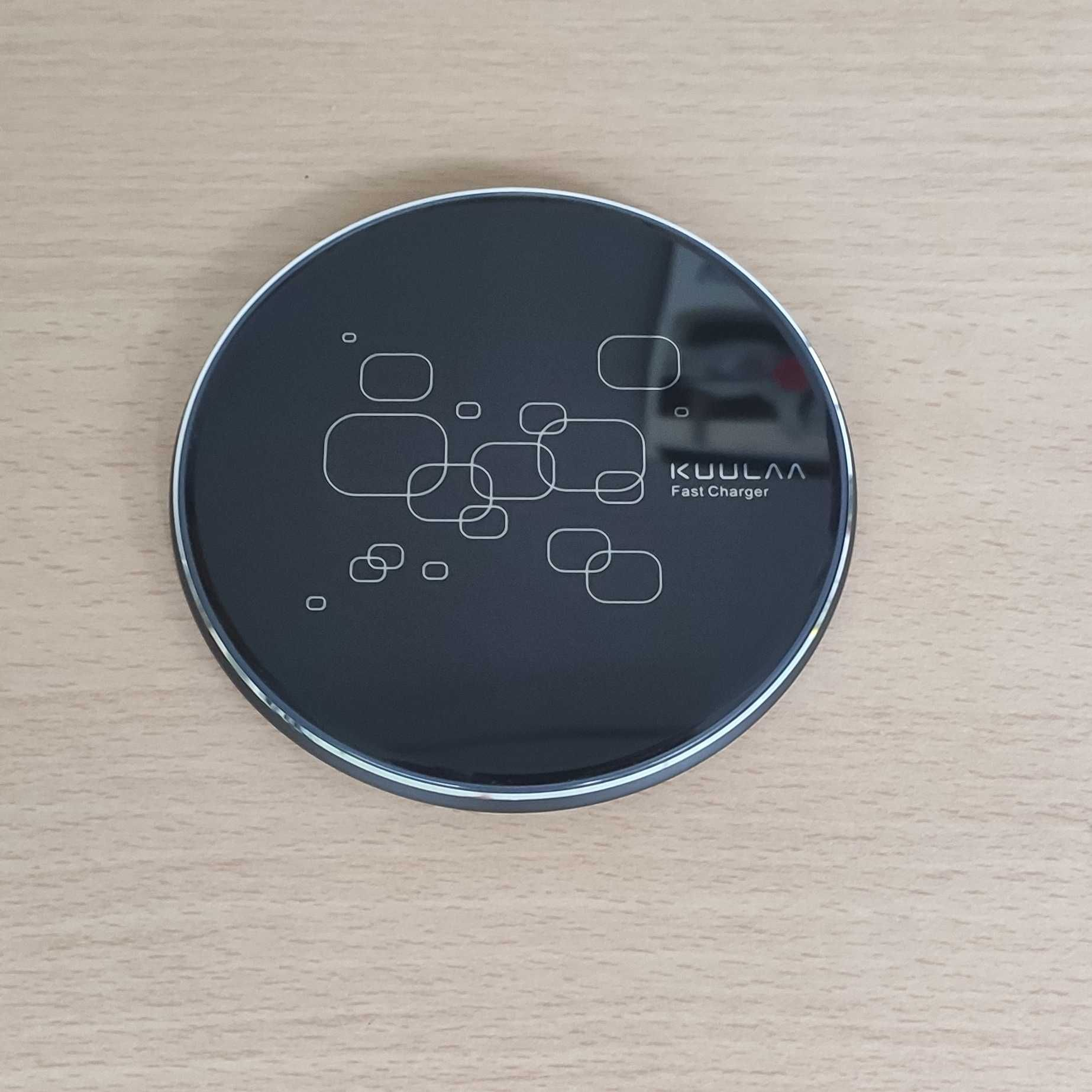 Carregador Wireless QI 15W Smartphone Smartwatch
