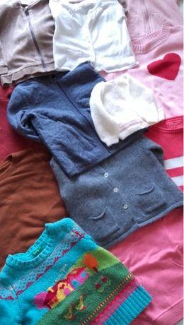 Casacos e camisolas quentes, para crianças dos 0 meses aos 3 anos