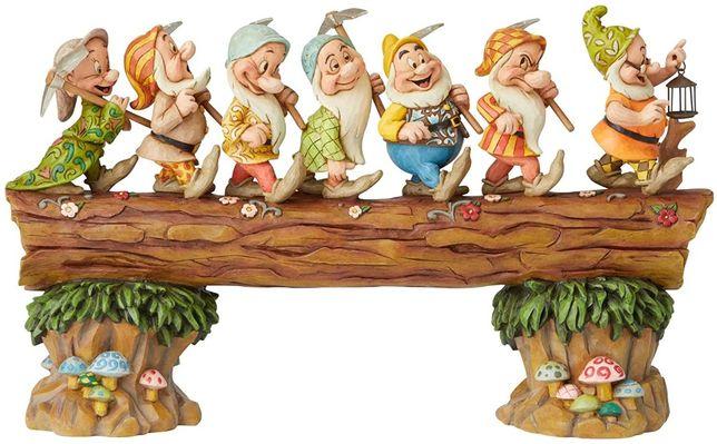 Figurka, ozdoba, arcydzieło Siedmiu Krasnoludków Disney Enesco