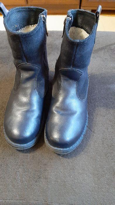 Зимние ботинки с натуральной кожи для девочки Киев - изображение 1