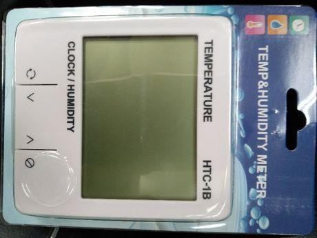 Тетмометр-гигрометр, часы. Измерение влажности и температуры.