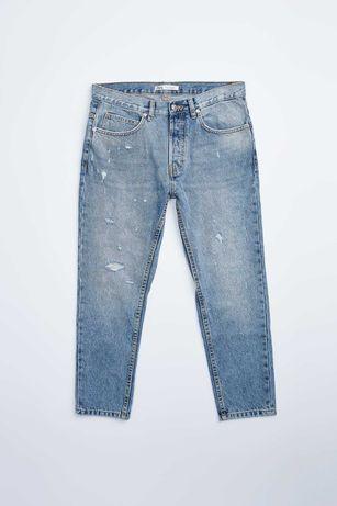 Джинсы рваные мужские ZARA Джинсы мужские Модные джинсы
