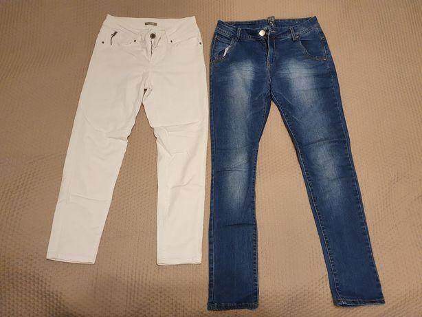Spodnie damskie S/M, 15 par, Bershka Orsay Wrangler. CENA ZA WSZYSTKO