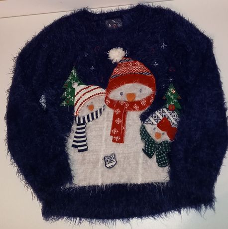 Sweterek zima bałwanek
