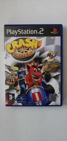 CTR Crash Nitro Kart / PS2 / Ideał / 3xA