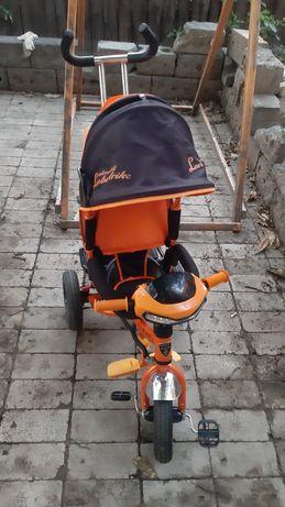 Детский велосипед Азимут трей Ламборджини