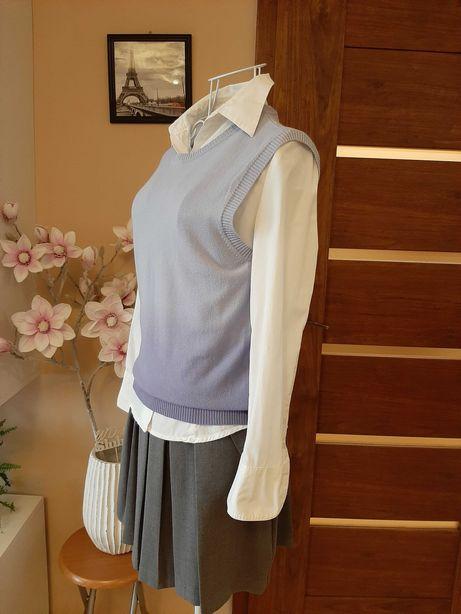 Zestaw Esprit 2w1 koszula+pulower lawendowy