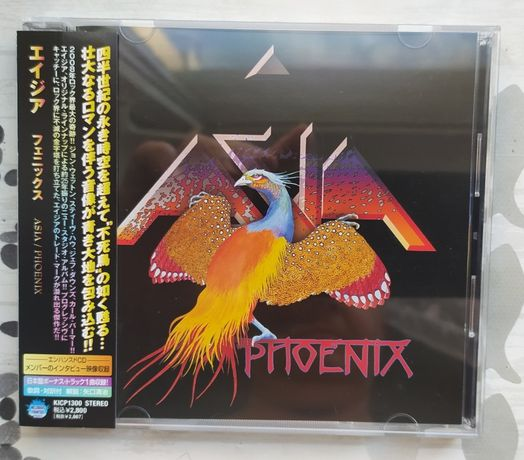 """Японский CD ASIA """"Phoenix"""" 2008"""