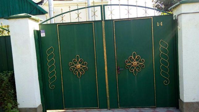Металоизделия изготовление- заборы,ворота(профнастил),решетки,двери