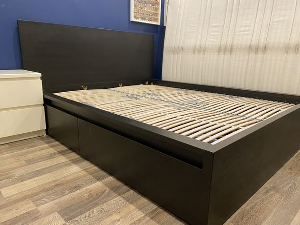 Rama łóżka Ikea Malm plus gratisy