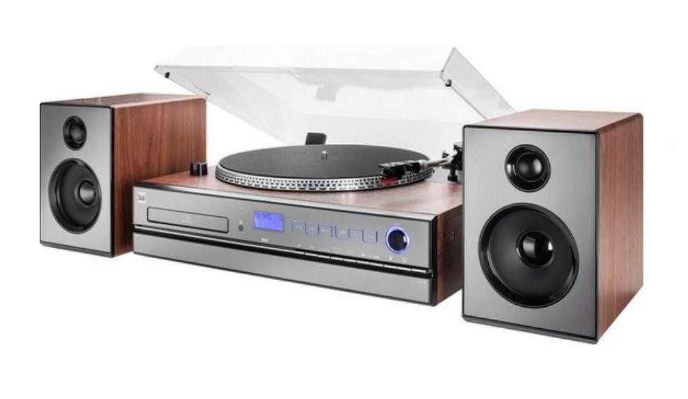 Wieża Gramofon Dual NR100X DAB+ MP3 CD USB Sosnowiec - image 1