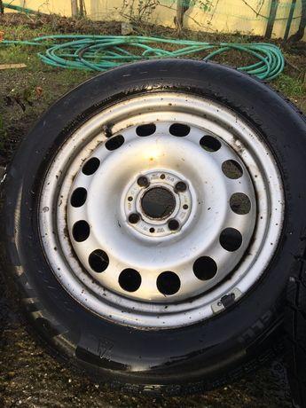 Jantes Ferro Mini 15 - bom estado c/ pneus