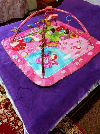 Развивающий коврик Tiny Love маленькая принцесса.