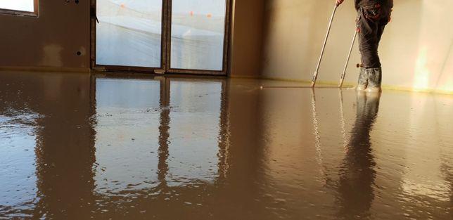 Posadzki, wylewki anhydrytowe na ogrzewanie podłogowe Konin