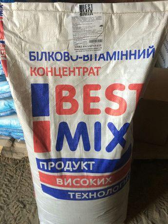 Белково-витаминно-минеральные добавки (БВМД) для свиней