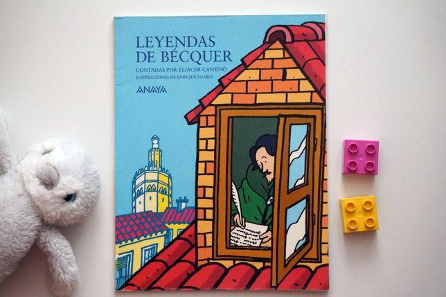 """Leyendas de Bécquer"" - książka po hiszpańsku"