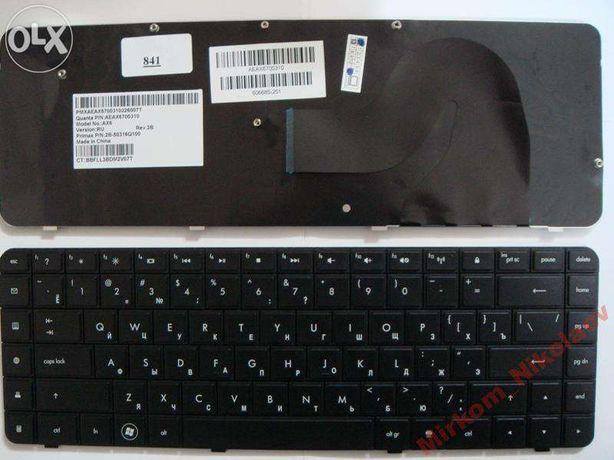 Клавиатура HP Pavilion G56 G62; Compaq Presario CQ56 CQ62 новая