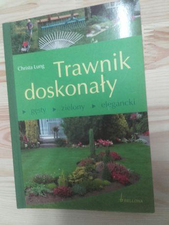 Książka poradnik Trawnik doskonały